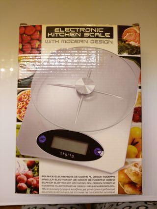 Báscula de cocina NUEVA digital eléctrica a pilas