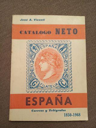 Catálogo de sellos . Catálogo Neto.