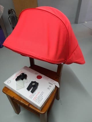 capota extensible roja bugaboo camaleon