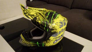 casco de motocroos para niño. Marca SHIRO