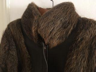 Abrigo piel nutria