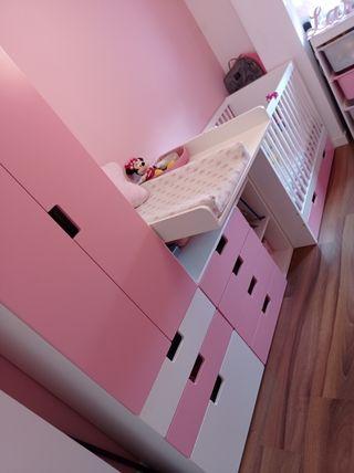 Habitación niña completa