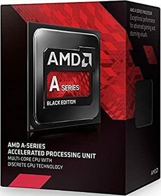 CPU AMD A-10 (CON CHIP GRÁFICO INTEGRADO)