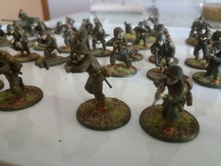 Se vende ejército Americano para Bolt Action