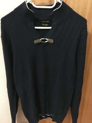Jersey algodón cashimire Massimo Dutti