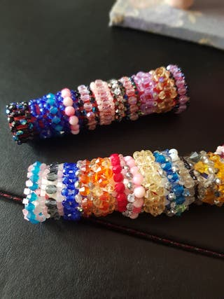 anillos nuevos cristal swarovski