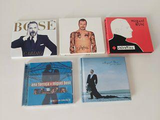 CDS y DVD originales de Miguel Bosé