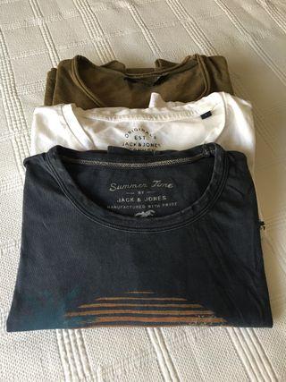 Camisetas manga corta