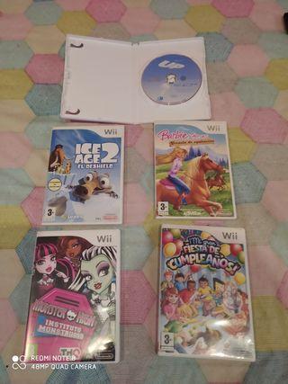 juegos Wii!!