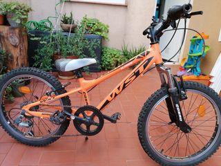 REBAJADA!! Bicicleta de niño/