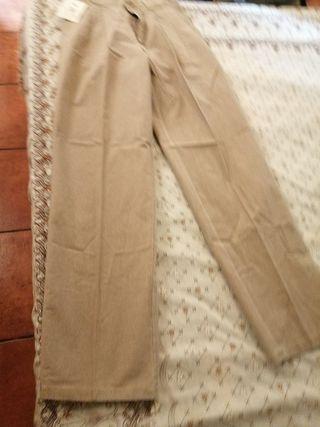 pantalón de hombre de pinzas talla 38