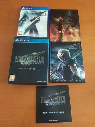 Final Fantasy VII remake delux edition PS4