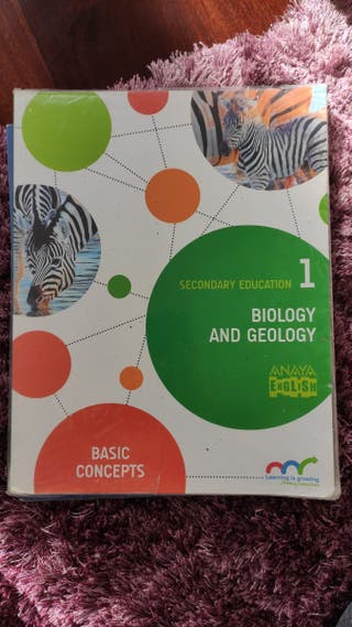 Biología and Geology 1 ESO