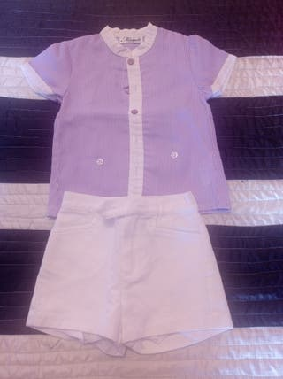 Conjunto camisa y pantalón 18 meses little king