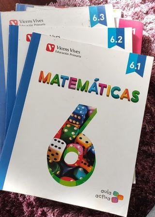 Matemáticas 6 Primaria Vicens Vives aula activa