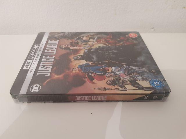Justice league 4K ULTRA HD Blu Ray STEELBOOK