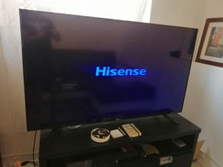 "TV Hisense Led 55"" como nuevo"