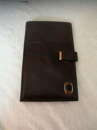 Portadocumentos billetera de viaje
