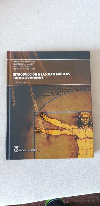 Introducción a las matemáticas. UNED