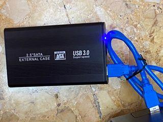 Disco duro Portátil de 1000Gb , 1 Tb sin uso USB