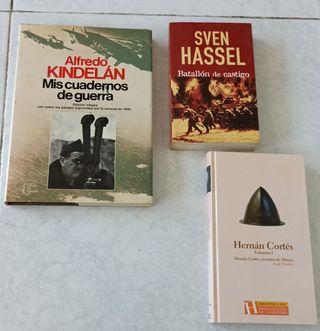2 libros militares y regalo uno de historia