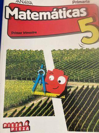 Libro matematicas 5 primaria