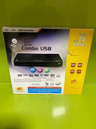 Reproductor DVD ,USB,TDT