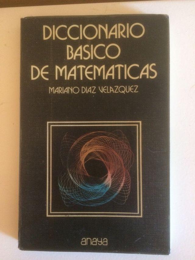 Diccionario Básico de Matemáticas