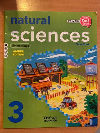 Libro Natural Sciences de 3 de primaria