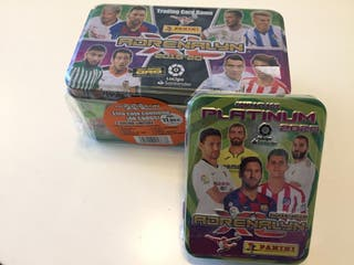 cromos adrenalyn platinum 2020 y caja box oro