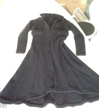 Abrigo de punto en lana, negro, de SITA MURT, 40