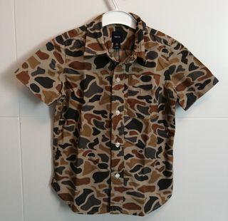 Camisa niño talla 4 Gap kids