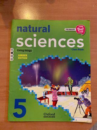 Libro Natural Sciences de 5 de primaria