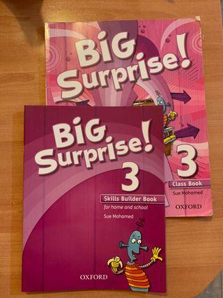 Libro Big Surprise! de 3 de primaria