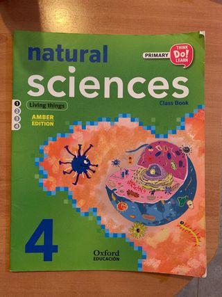Libro Natural Sciences de 4 de primaria