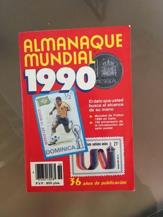 Almanaque mundial 1990