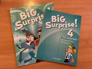 Libro Big Surprise de 4 de primaria