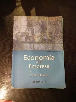 Economía de la empresa 2° bachillerato