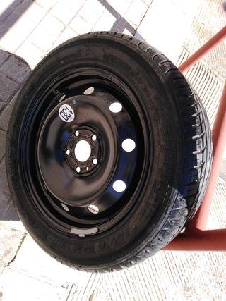llanta con neumático nuevo laguna 2