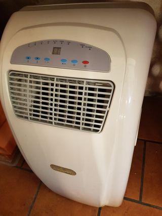 aire acondicionado y también aire caliente