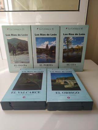 Películas VHS Los Ríos de León