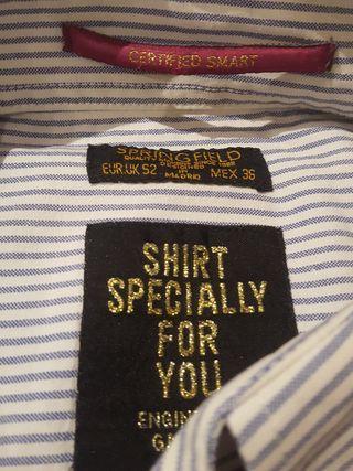 camisa cab. Springfield.