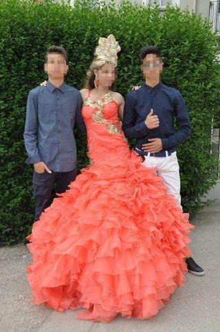 vestido de novia gitana