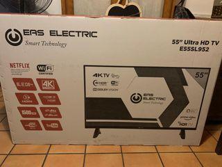 "TV LED 55"" EAS ELECTRIC 4K HDR DOLBY 1500 NETFLIX"