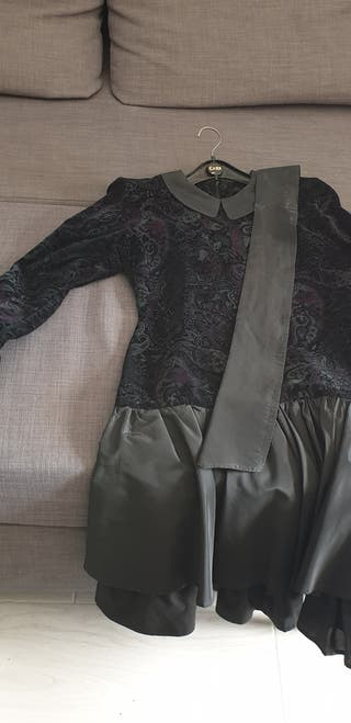vestido para quinceañera de velludo diseño con fi