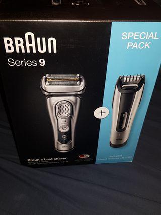 braun series 9 maquina afeitar