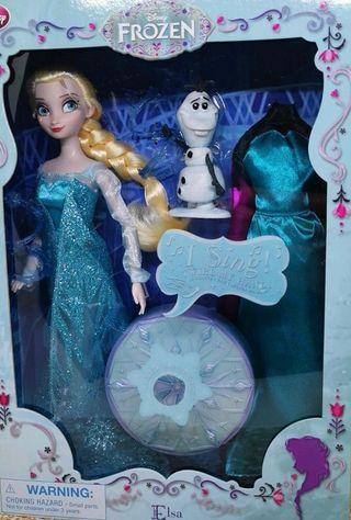 Muñeca Elsa de Frozen, Edición Deluxe