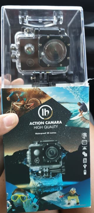 vídeo cámara acuática deportiva