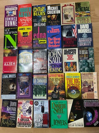 Novelas en inglés lote de 107