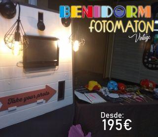 FOTOMATON Vintage Benidorm